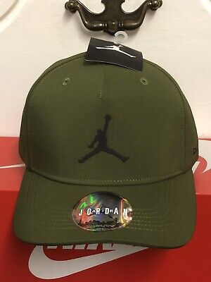 NIKE AIR JORDAN JUMPMAN 6 PANNEL BASEBALL STRETCH BACK CAP NEW WITH TAGS S-M