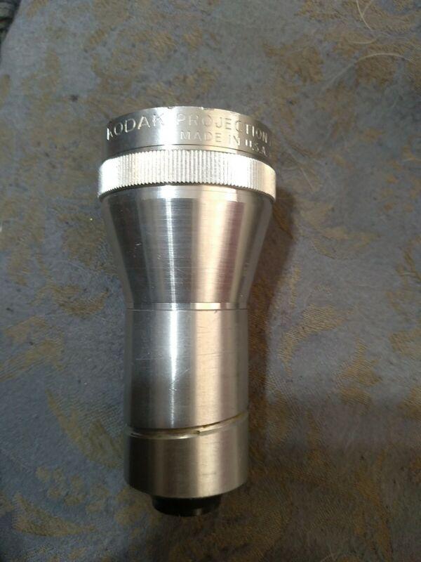 Kodak Projection Ektanar Lens 2 Inch f/ 1.6 - Made In USA by Eastman - Vintage