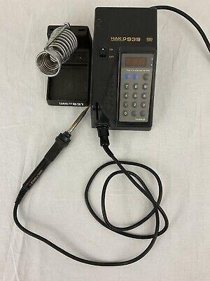 Hakko 939 Digital Adjustable Temperature Solder Station W 903 Iron 631 Stand