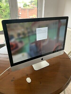 apple imac 27 inch 2011 2.7GHz i5 Core 4GB 1TB HD