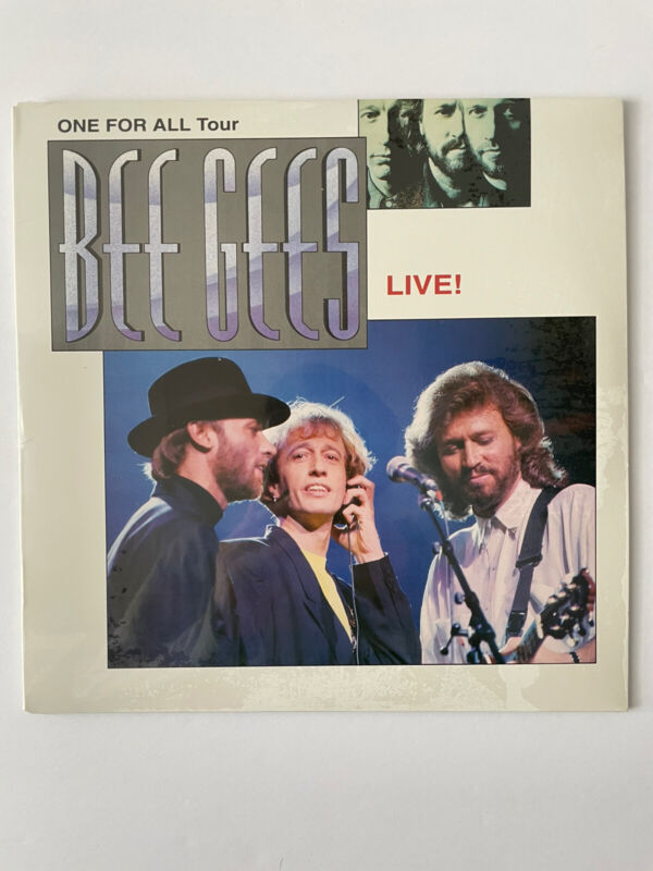 Bee Gees One For All Tour LIVE - Laser Disc - Brand New / Sealed