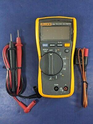 Fluke 116 Trms Multimeter Excellent Screen Protector