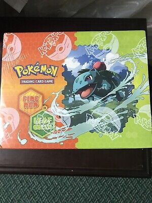 Pokemon EX Fire Red Leaf Green Theme Deck Case Factory Sealed Box