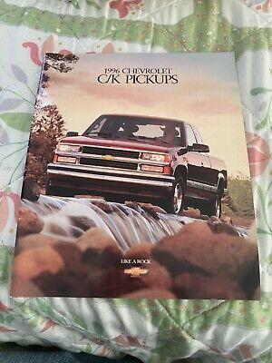 1995 Chevrolet C/K pickups   brochure