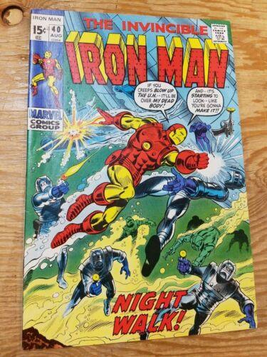 Iron Man #40
