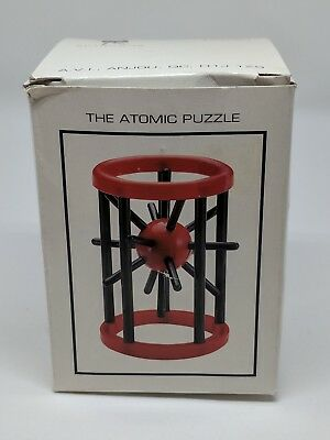 The Atomic Puzzle Brain Teaser Iq Mechanical Disassembly Autruche Quebec