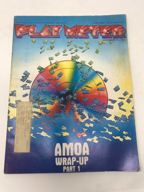 Play Meter Magazine December 1983 Pinball Video Games Wrap-up