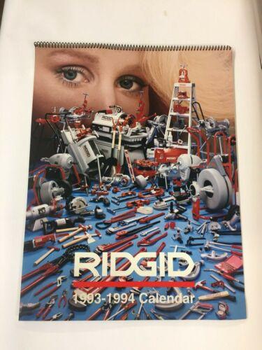 Rigid Calendar 1993-1994