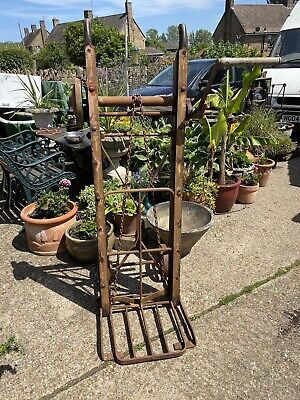 Vintage Agricultural Cooks of Yakley Chain Winch Sack Barrow, Great Condition.