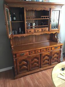 Statement piece Hutch/Display Cabinet