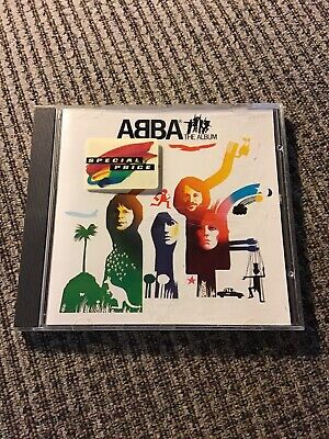 ABBA THE ALBUM 1977 CD WEST GERMANY POLYDOR PRINT, 7TRX