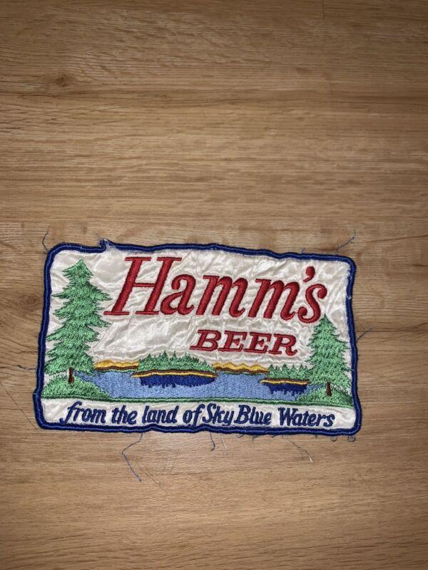 Vtg Hamms Beer Patch