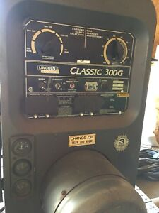 Lincoln electric Classic 300g welder