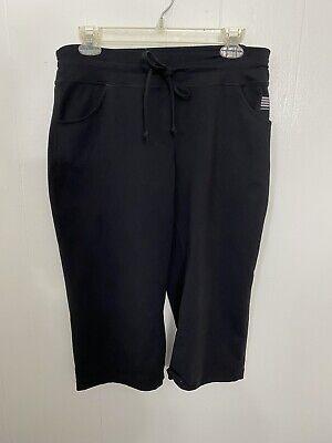 Lands End S Disastrous Capris Pockets Drawstring Active Wear Pants
