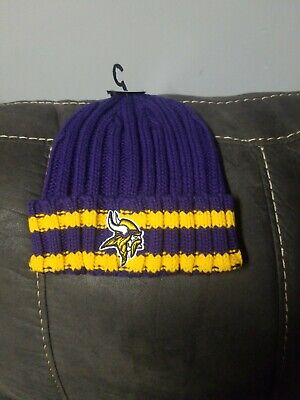 Minnesota Vikings Winter Hat (NEW Minnesota Vikings OTS NFL  Beanie Knit Winter Cap Hat NFL Football)