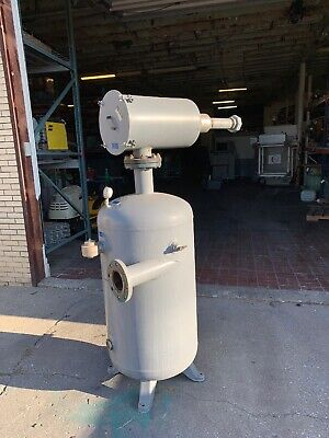 Natl. Brunner Eng Mfg Tank Model Bd 93648k 200psi450f 80 Gallon Solberg Air