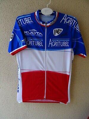 MAILLOT VELO signé Champion France 2007, Moreau Christophe