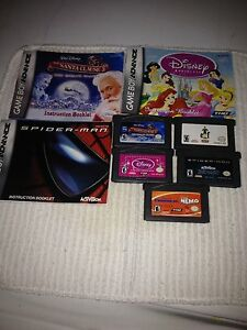 5 Gameboy advance games  Nintendo