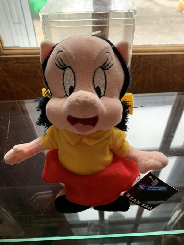 Vtg Warner Bros Petunia Pig Bean Bag 1998