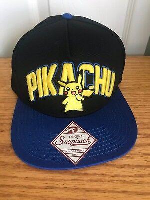 Pokemon Pikachu Hat Cap NWT