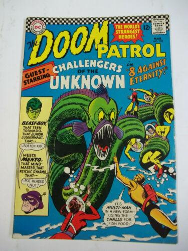 THE DOOM PATROL  #102  (1966)  7.0 FN/VF