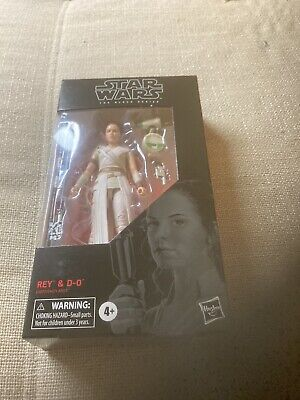 Star Wars Black Series Rey and D-O action figure