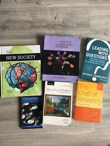 First year university textbooks for sale!!