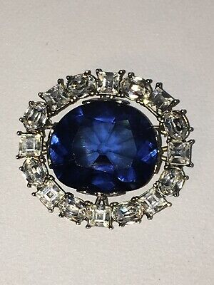 Vintage Ornate Womens Brooch Pin Costume Jewelry