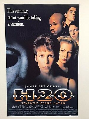 Halloween H20 1998 (Halloween H20: 20 Years Later Theatrical Release 11x17 Movie Poster)