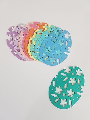 Easter Egg Die Cut Outs ( Scrap Booking, Embellishments, Garlands ) - Easter Eggs Cut Outs