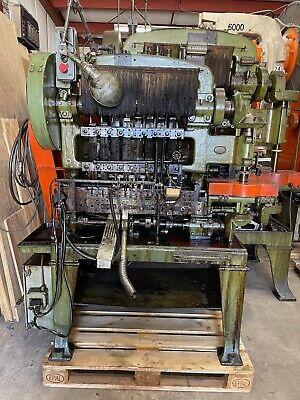 Waterbury Farrel 10-8 Eyelet Transfer Press