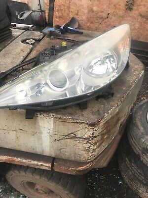 PEUGEOT 207 CC PASSENGER SIDE PROJECTOR HEADLIGHT 620898 2006 TO 2012