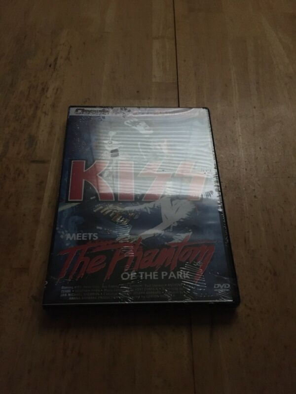 kiss meets the phantom of the park DVD New