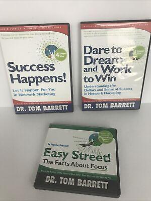 Dr. Tom Barrett LOT Audio CD 3 Item Set