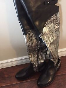 Amazing Italian Leather boots size 36 European