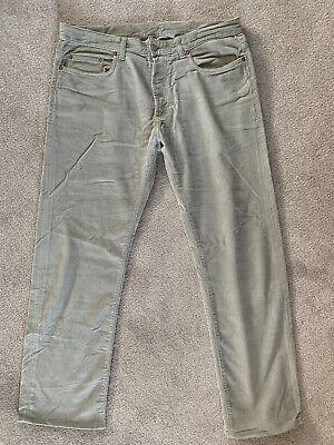 Gucci Corduroy Trousers Jeans Vintage Unworn