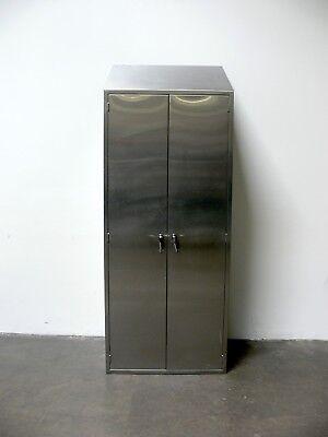 Heavy Duty Stainless Steel Lab Storage Cabinet 14 X 35 X 92