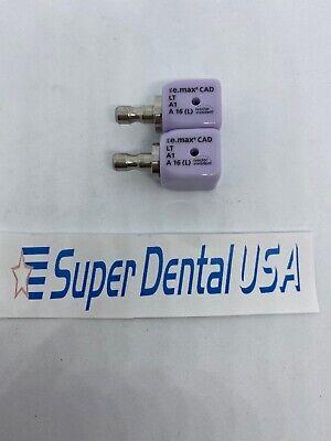 Cerec Ivoclar Emax Implant Lt A1 A16 L Screw Retained 2 Blocks
