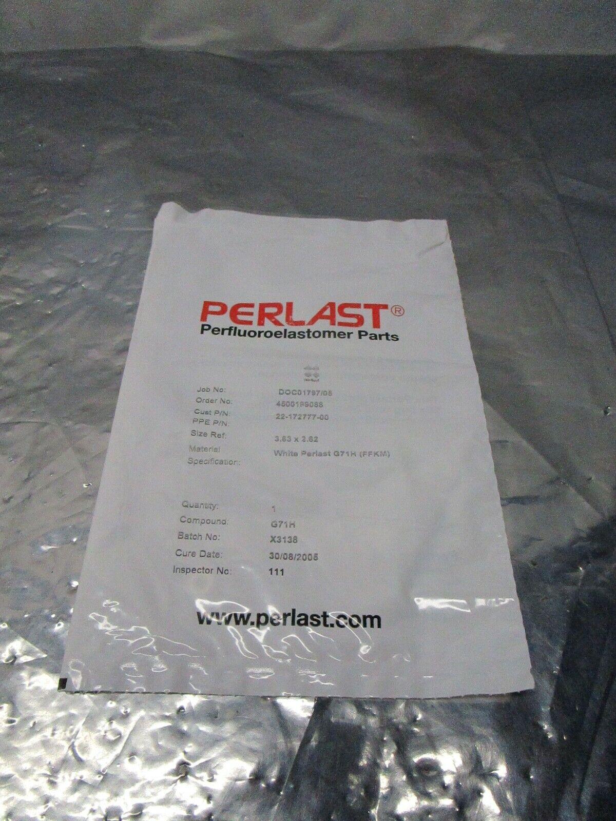 Perlast Oring, Compound G71H (FFKM), White, Novellus 22-172777-00, 101348