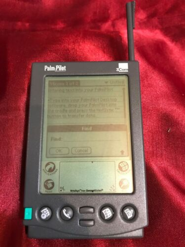 3Com Palm Pilot Professional with Stylus WORKS!