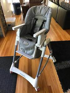 Love N Care Techno Highchair - Grey Swirl Cairns Cairns City Preview