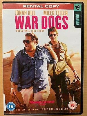 Jonah Hil Miles Teller War Dogs 2016 True Life Arms Dealer Drama UK Rental DVD