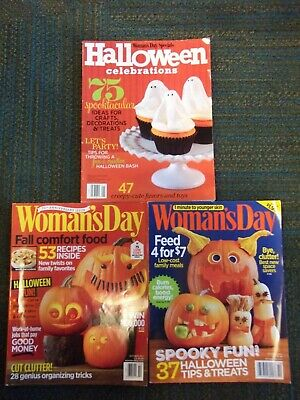 Lot of 3-WOMAN'S DAY Magazine (Oct 2012/2015) &
