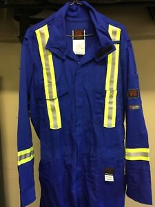 High vis FR coveralls