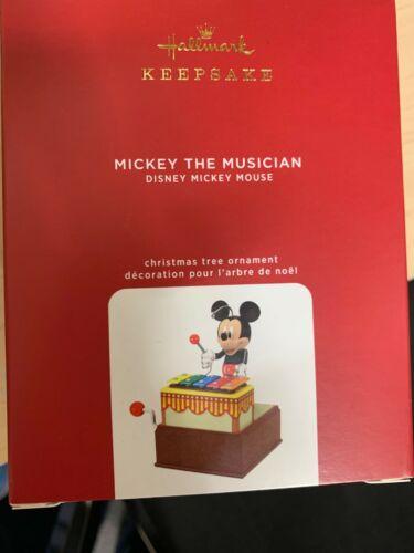 2020 Hallmark Mickey the Musician Ornament