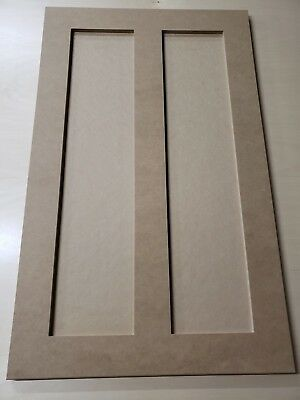 Shaker Style Cabinet  End Panels All Sizes MDF / HDF (Cabinet End Panels)