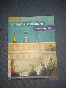 Year 11 HSC Preliminary Legal Textbook Castle Hill The Hills District Preview