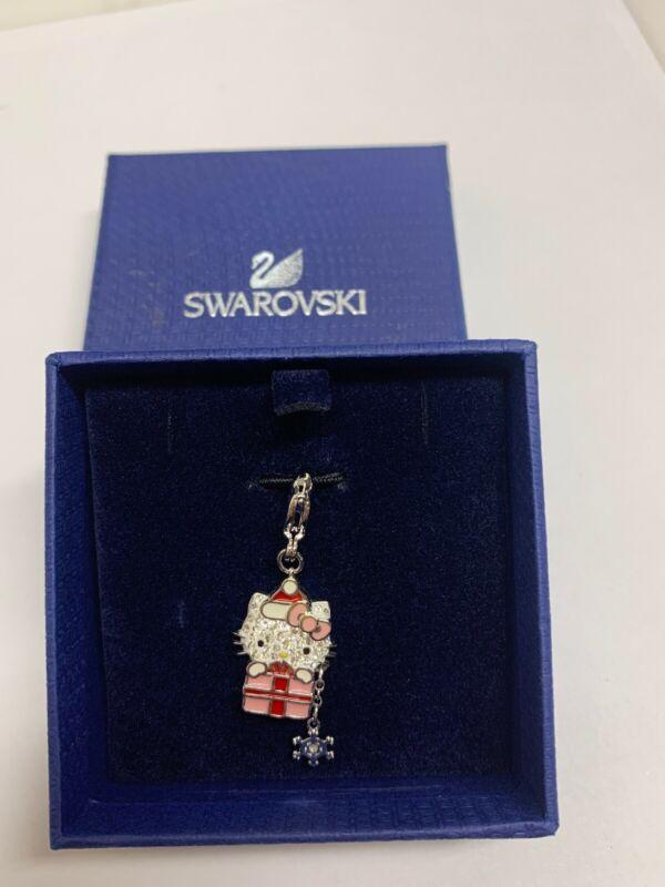Swarovski Hello Kitty Christmas Charm