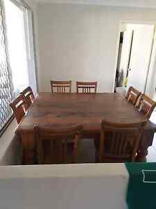 Dining table and chairs Halls Head Mandurah Area Preview