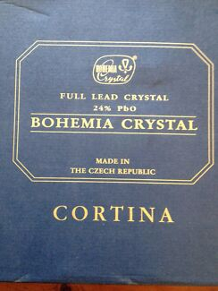Bohemia Crystal box set Pottsville Tweed Heads Area Preview